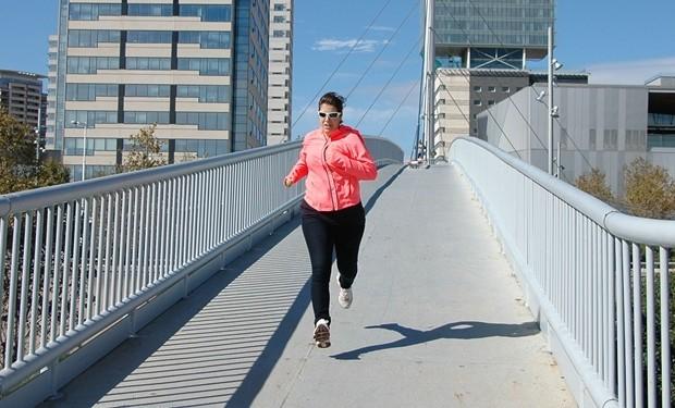 Correr despues ejercicio
