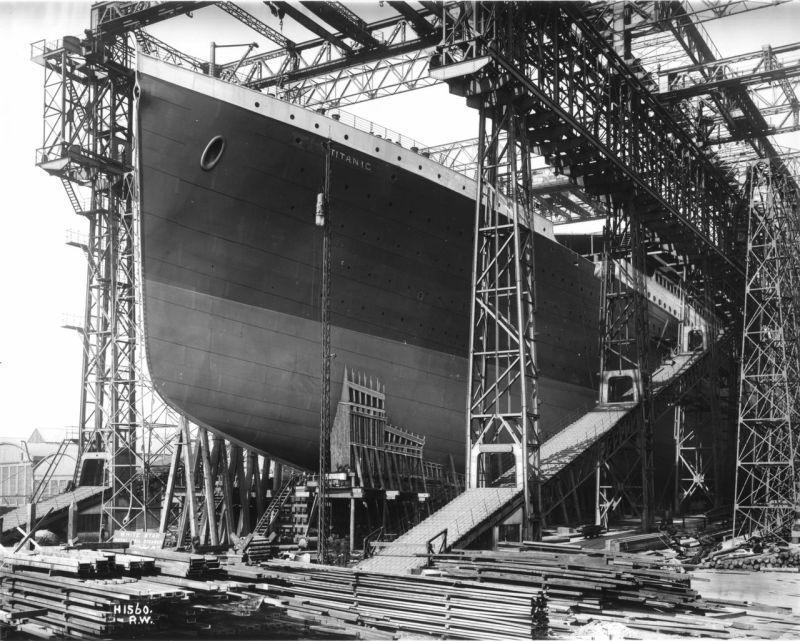 Casco titanic