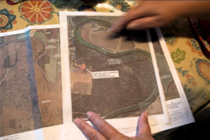 Maria flores mapa los ebanos