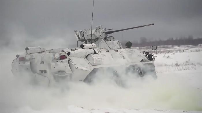 Tanque ruso aut nomo drone