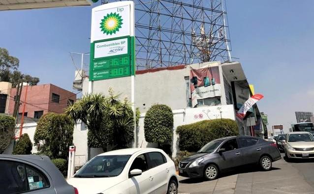 Gasolinera bp cdmx