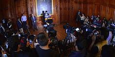 Relacionada corral conferencia de prensa
