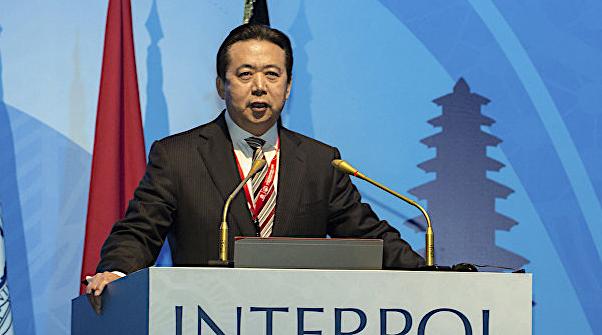 Interpol directora meng