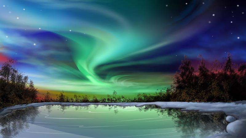 Northern lights alaska 4