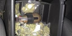 Relacionada granada y marihuana asegurada en cuauhtemoc chihuahua