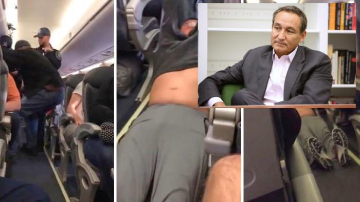United Airlines se disculpa con pasajero sacado a rastras de avión