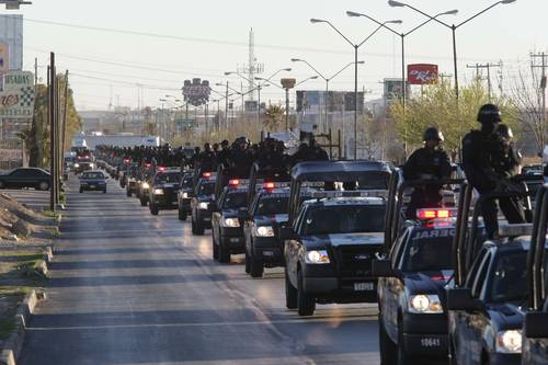 Policia federal juarez