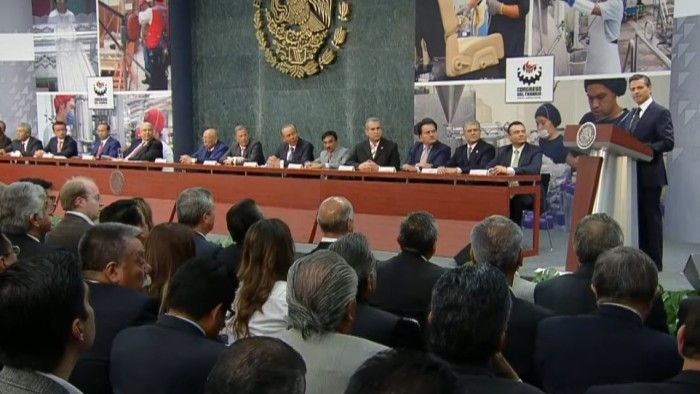 Captura de ex gobernadores, mensaje contra impunidad: EPN