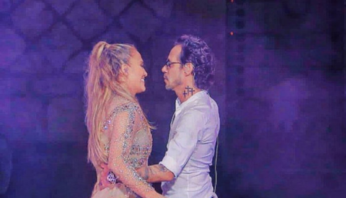Video  jlo rechazo  a marc anthony en pleno escenario