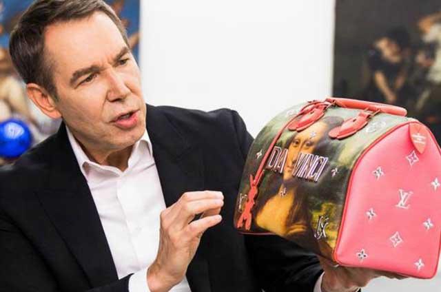 Jeff koons louis vuitton crean bolso tus suenos