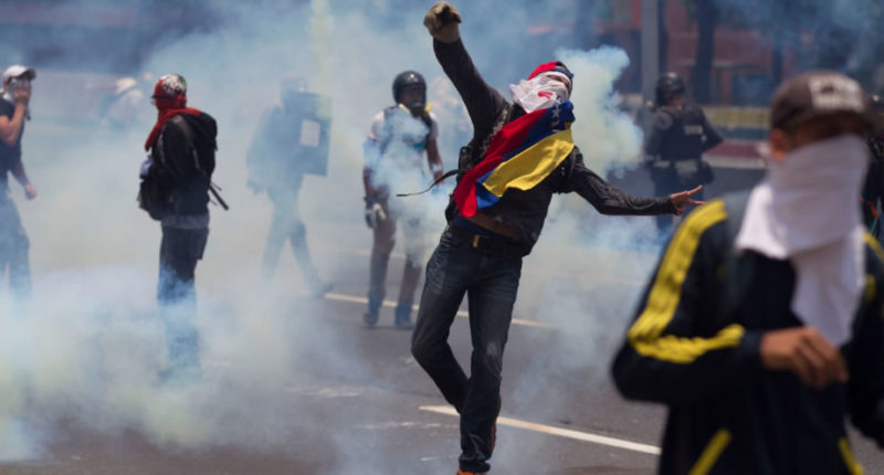 Protesta venezolana 3 800x430