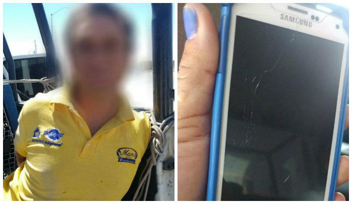 Polici as municipales detienen a sujeto por robo a transeu nte