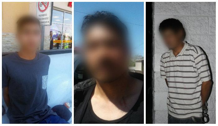 Polici as municipales detienen a tres sujetos por violencia familiar en diferentes hechos
