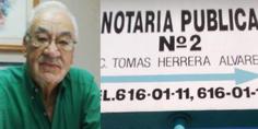 Relacionada notario tomas herrera alvarez