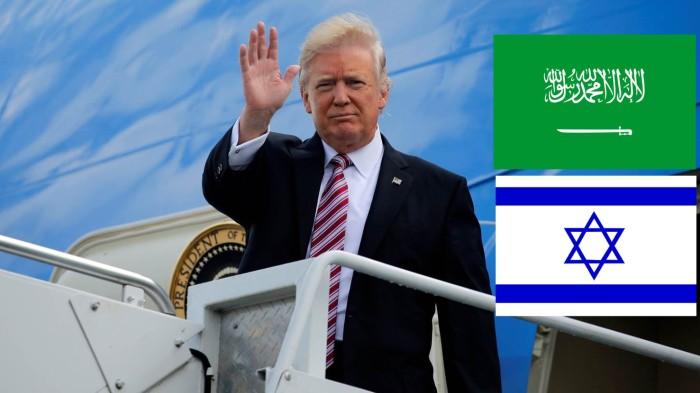 Trump israel arabia