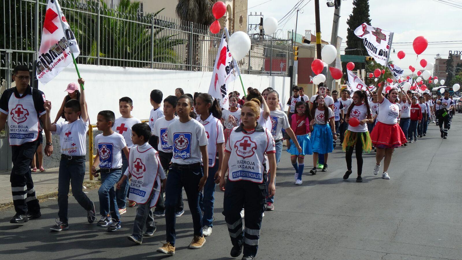 Celebrarán Día Internacional de la Cruz Roja