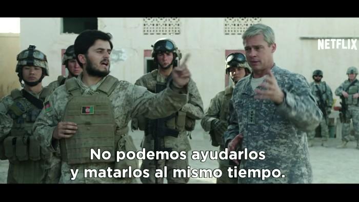 Brad Pitt llega a Netflix con 'War Machine'