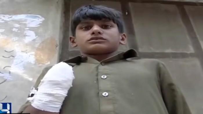 Amputan mano a jovencito que exigi su salario en pakist n tiempo - Tiempo en pakistan ...
