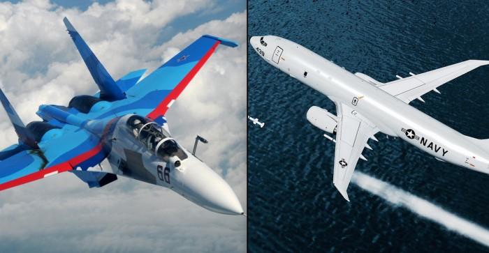 Rusia confirma interceptación de avión espía en el mar Negro