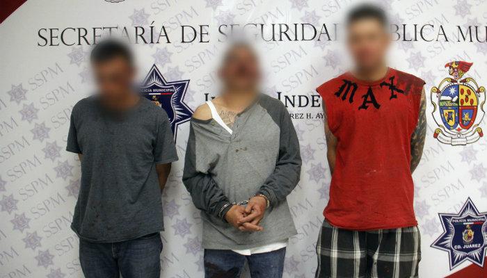 Caen presuntos extorsionadores en la colonia Revolución Mexicana