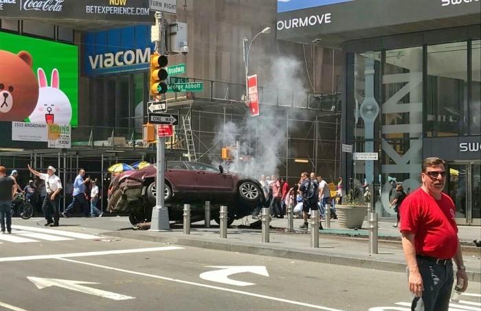 Atropello en Times Square no fue atentado terrorista: alcalde de NY
