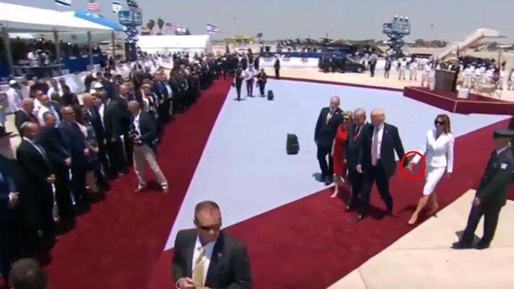 El gesto de Melania que reforzó especulaciones sobre su relación con Trump