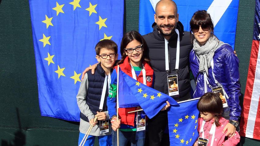 La esposa e hijas de Guardiola salieron ilesas del atentado de Manchester