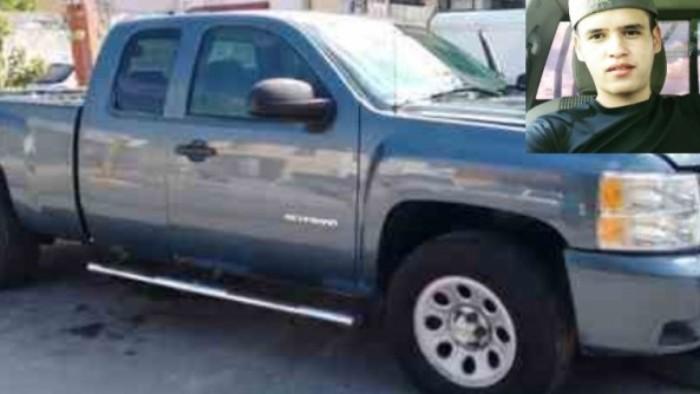 Ubica Fiscalía camioneta de joven desaparecido en Cuauhtémoc hace dos días