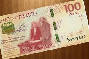 Slider 2017 billete 100 pesos
