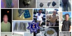 Relacionada en diferentes intervenciones polici as municipales detienen a ocho presuntos narcomenudistas