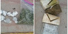 Relacionada detuvieron a dos narcomenudistas con 4 libras de marihuana