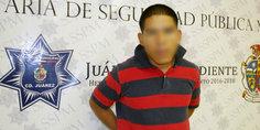 Relacionada detienen la polici a municipal a adolescente por el delito de lesiones  apun alo  a un hombre de 50 an os
