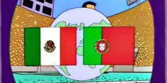 Relacionada mexico portugal simpsons 1136x639