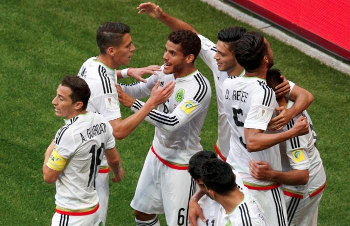México rescata el empate ante la Portugal de Ronaldo en la Confederaciones