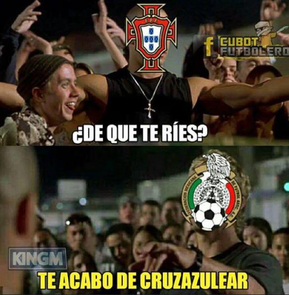 México aparece en el camino de Portugal y Cristiano Ronaldo — Copa Confederaciones