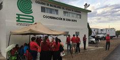 Relacionada continu an manifestaciones en oficinas del cobach