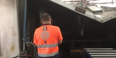 Relacionada incendio maqila