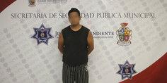 Relacionada agentes municipales detienen a sujeto acusado de abuso sexual