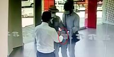 Relacionada le cierra la puerta a asaltantes de banco