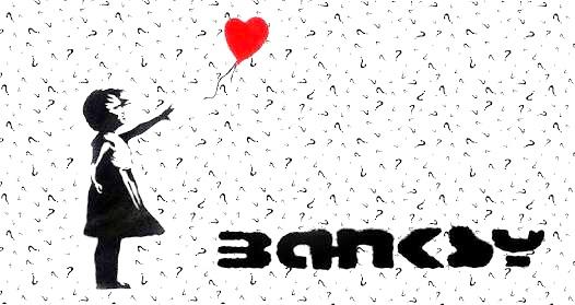 Un amigo revela su identidad sin querer en vivo — Bansky