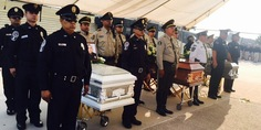 Relacionada homenaje policias chih