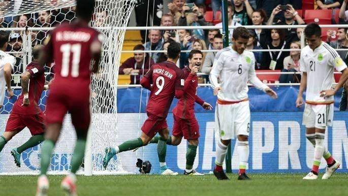 Portugal y México, en las semis de la Confederaciones