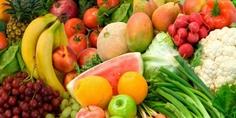 Relacionada frutas y verduras