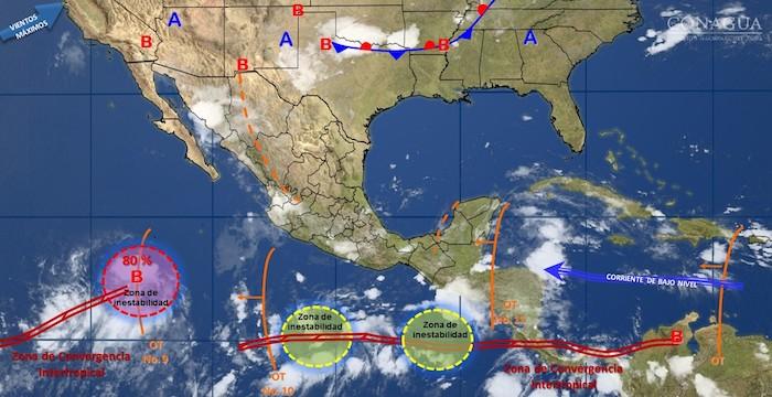 Continuarán tormentas fuertes en el Valle de México