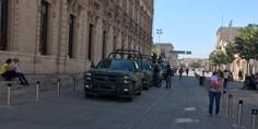Relacionada reunion seguridad palacio de gobierno