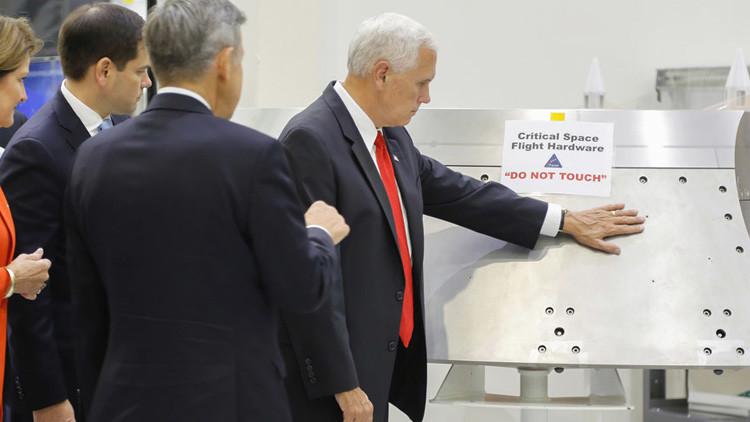 Promete Pence nueva era en exploración espacial de EU