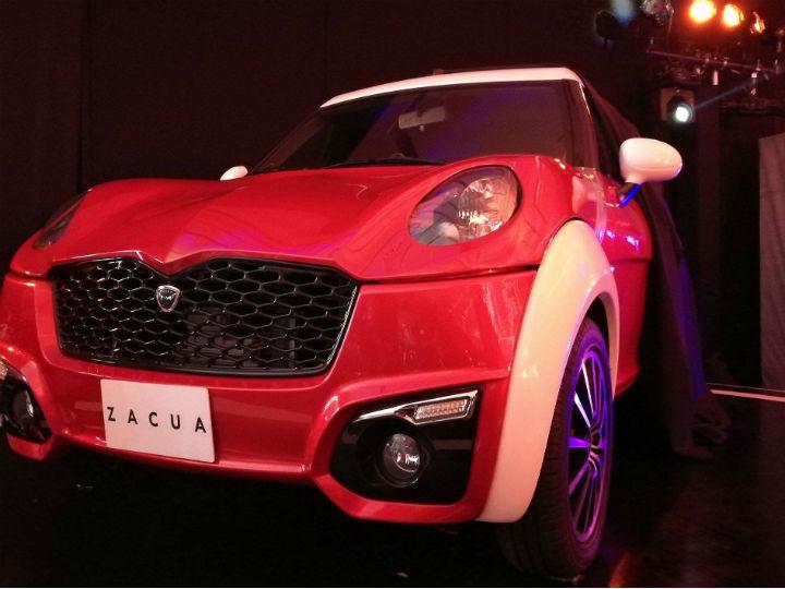 Zacua es la primera marca de autos eléctricos 100% mexicana