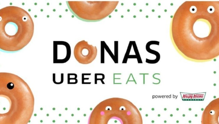 Regalará Uber donas Krispy Kreme