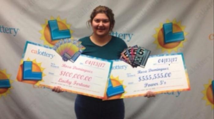 Gana latina la lotería de California…