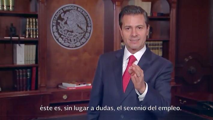 En junio se crearon más de 86 mil empleos: Peña Nieto